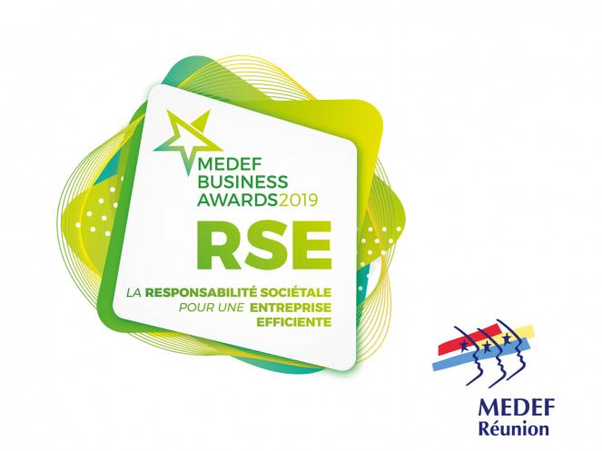 Visuel des MEDEF BUSINESS AWARDS 2019 La Réunion