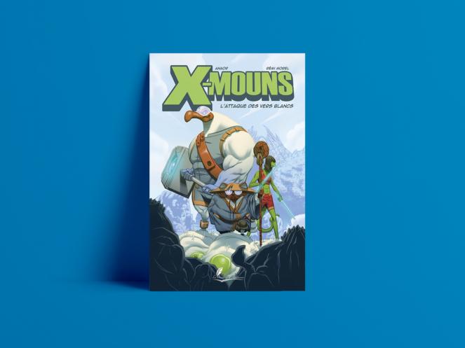 Couverture BD X-Mouns Tome 1